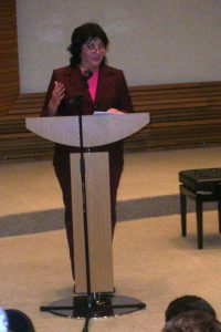 נאום במשרד ראש הממשלה2011