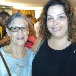שושנה שורנזון עם הנכדה חני ברק