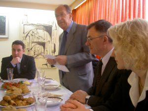 ביקור משלחת פורמאלית של ממשלת ליטא בבית וילנה פברואר 2008 021